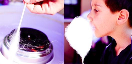 Macchina per lo zucchero filato